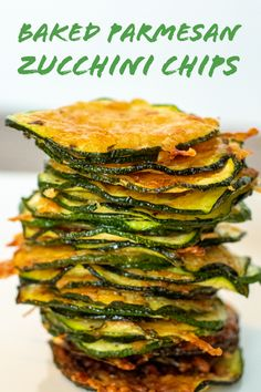 Keto Parmesan Zucchini Chips: Preheat oven to F. Use a mandolin to thinly slice zucchini, and place them in one layer on a baking sheet. Parmesan Zucchini Chips, Sliced Zucchini Recipes, Zucchini Chips Recipe, Bake Zucchini, Keto Recipes, Cooking Recipes, Healthy Recipes, Cooking Tips, Healthy Cooking