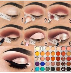 The jaclyn hill eyeshadow palette makeup Lidschatten schminken eye makeup tutorial jaclyn hill palette - Eye Makeup Jaclyn Hill Palette, Jaclyn Hill Eyeshadow Palette, Makeup Palette, Eye Palette, Natural Eyeshadow, Eyeshadow Looks, Eyeshadow Makeup, Makeup Brushes, Natural Makeup