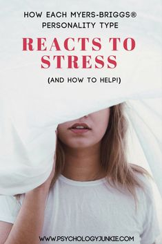 Find out what causes stress for each Myers-Briggs personality type, and learn how each type responds differently. Also find ways to prevent and fix stress! What Causes Stress, Anxiety Causes, Isfj Personality, Myers Briggs Personality Types, Personality Psychology, Infj Infp, Introvert, Understanding Anxiety, Estj