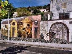 L'arte dei murales Sardegna   #TuscanyAgriturismoGiratola