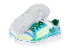 adidas Originals Kids Forum Lo XL (Toddler/Youth) White/Fairway/Bluebird - Zappos.com Free Shipping BOTH Ways