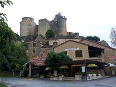 Chateau De Bonaguil à Fumel, Aquitaine