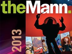 Pixar In Concert - With Fireworks! - Thurs. June 27, 2013 @ the Mann