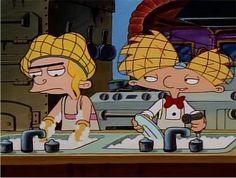 "Hey Arnold episode: ""Dinner for four"""