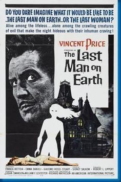 Last Man On Earth The Movie Poster 24inx36in