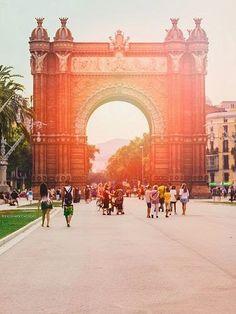 Parc de la Ciutadella - Parque de la Ciudadela, Barcelona. España, Spain