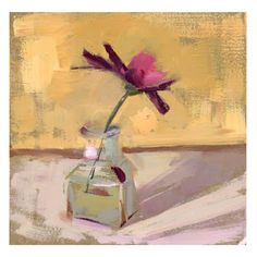 LISA DARIA'S PAINTING A DAY: Weekend Daisy #559