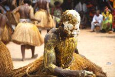 Ritual vudú cerca de Ouidah