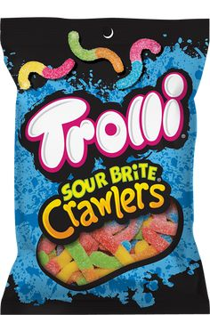 Trolli - Sour Gummy Worms, Bears, and Candy - Kaylee's wishlist - Healt and fitness Sour Gummy Worms, Sour Gummy Bears, Junk Food Snacks, Sour Patch Kids, Sour Candy, Pumpkin Spice Cupcakes, Favorite Candy, Candy Party, Fall Desserts
