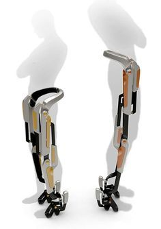 The 7-Miles Orthosis System Brings Ease and Efficiency to Travel on Foot #robots trendhunter.com Spare Parts @ http://www.ch-tech.ch
