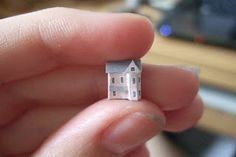 Wasting Gold Paper: My Micro Dollhouse Collection