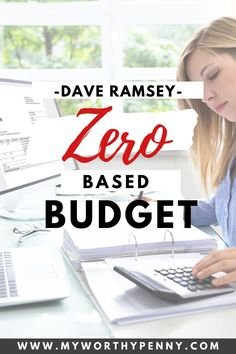 Confused about the Dave Ramsey zero-based budget? Here is everything you need to know about the zero-based budgeting. Learn how it will help you manage your money better and achieve your financial goals. Zero-based budget strategy. Zero based budget technique. #budgeting #monthlybudget #budgetinggoals