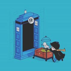 This would be amazing... Harry Potter/ Doctor Who