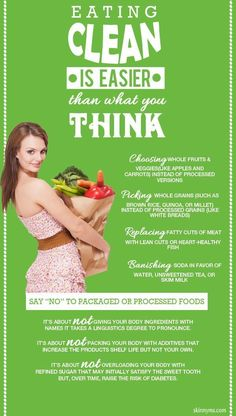 Clean Eating is Easier than you Might Think!