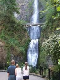 I have been here! Waterfall just outside Portland