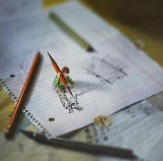 kreative Selbstportraits: Little Folk