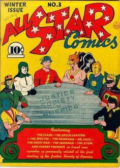 COMIC BITS ONLINE: Justice Society of America -It USED To Mean Someth...