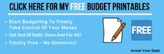 Do These 2 Things Before You Start Paying Off Debt! - Arrest Your Debt - Money Financial Stress, Financial Peace, Cold Hard Cash, Budgeting 101, Monthly Budget, Create A Budget, Get Out Of Debt, Dry Erase Board, Debt Payoff