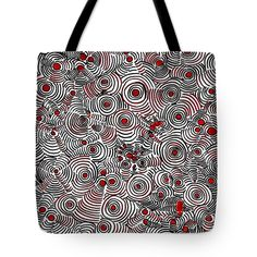 Interference Tote Bag at http://fineartamerica.com/products/interference-sarah-loft-tote-bag-18-18.html comes  in 13, 16 or 18 inches priced at $20 to $25. The tote bag is machine washable and includes a black strap for easy carrying on your shoulder. All totes are available for worldwide shipping and include a money-back guarantee.