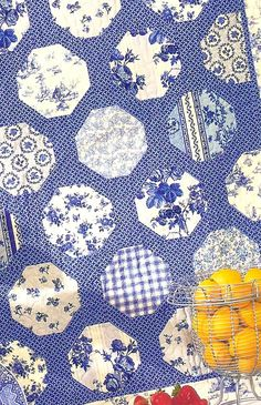 China Dishes quilt pattern by Black Mountain Needleworks. Quick and Easy.