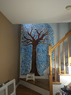 The talking tree Mural.
