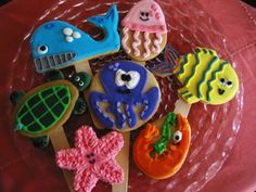Undersea Cookies By bohemia on CakeCentral.com