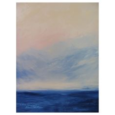Deep Calls To Deep - abstract by Diane McFerrin
