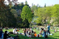Parc des Buttes - Paris - community action for sustainability - CASwiki Paris France, Paris Apartments, 17th Century, Sustainability, Dolores Park, Europe, City, World, Travel