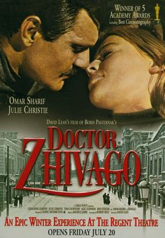 Doctor Zhivago - loved the house in winter