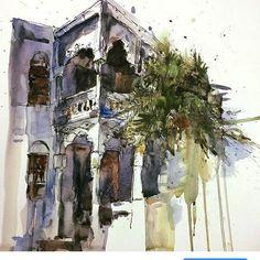 Sketching -watercolor (@reham_m_a) в Instagram: #aquarell #art #painting #watercolor #sketch #paint #painting #sketch #drawing #sketching #sketchbook #travelbook #archisketcher #sketchaday #sketchwalker #sketchcollector #artbook #artjournal #traveldiary #topcreator #usk #urbansketchers #urbansketch #скетчбук #скетч #скетчинг #pleinair #aquarelle #watercolorsketch #usk #architecture