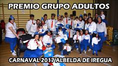 Premio Grupo adultos carnaval Albelda 2017 Air Albelda