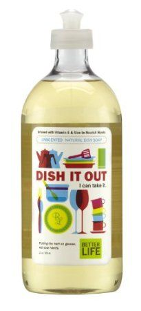 Better Life Dish It Out Dish Soap Unscented.