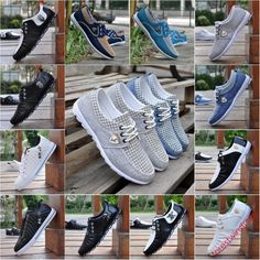 New Fashion England Mens Breathable Canvas Sneakers Casual Athletic Sports Shoes…
