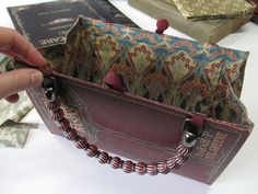 purse from a book