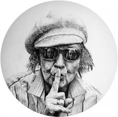 Pencil drawings by Heikki Leis. Seriously, PENCIL.