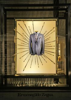"ERMENEGILDO ZEGNA, ""Looking for the perfect suit can be like looking for a needle in a haystack"", pinned by Ton van der Veer"
