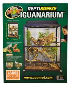 ReptiBreeze IguanArium® for my Toki