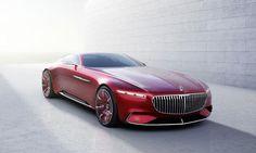 Концепт супер-купе Vision Mercedes-Maybach 6 [Фотогалерея] | Новости автомира на dealerON.ru
