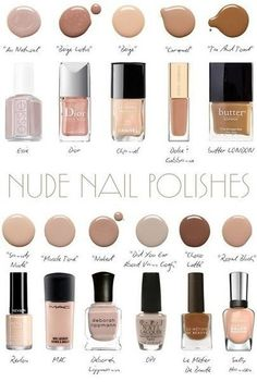 Hunting for the best nude nail polish? My HUGE list of the best nude nail polish color inspiration. Check out these perfect nude nails! Neutral Nail Polish, Summer Nail Polish, Nail Polish Colors, Nail Polishes, Polish Nails, Beige Nail, Neutral Nail Color, Skin Polish, Essie Gel