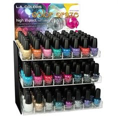 "L.A.Colors - Color Craze ""Tropical"" Nail Polish - 24 Piece Set (Display not included, Receive One Of Each Color)  FREE SHIPPING...   Total Price:    $34.30"