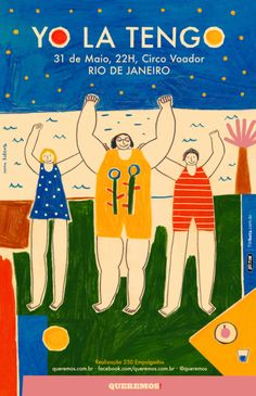YO LA TENGO poster | Obra Gráfica de Inma Lorente | Flecha