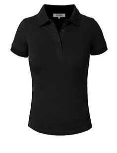 Golf Clothing *** J. LOVNY Womens Basic Solid Short Sleeve Pique Polo Shirt 16 Colors -- Click the photo for additional information. (This is an affiliate link). Polo Shirt Women, Pique Polo Shirt, Golf T Shirts, Polo Shirts, Tuxedo T Shirt, Blank T Shirts, Shirt Maker, Cheap T Shirts, Golf Fashion