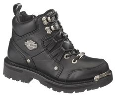 Harley-Davidson® Women'S Tracey Lace Zip Leather Motorcycle Riding Boots D84496