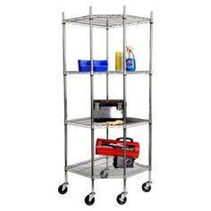 Tate Corner Storage Shelf