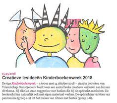 Lesideeën Kunstgebouw Kinderboekenweek 2018 Pikachu, Letters, School, Kids, Fictional Characters, Stage, Children, Boys, Letter
