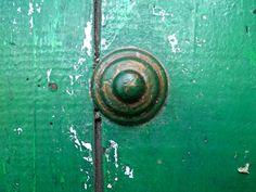 Textura. #Green #door