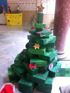 Escola Jacint Verdaguer. Taller de Nadal 2016. Escola impremta.