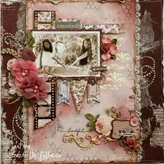 Bo Bunny - Rose Cafe - Such a Pretty Mess: Best Friends ~ Gabrielle Pollacco
