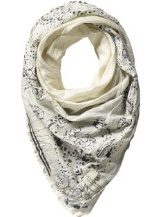 Voile scarf.