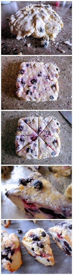 Blueberry Scones. The best scones recipe I have come across! | http://mybungalow.org